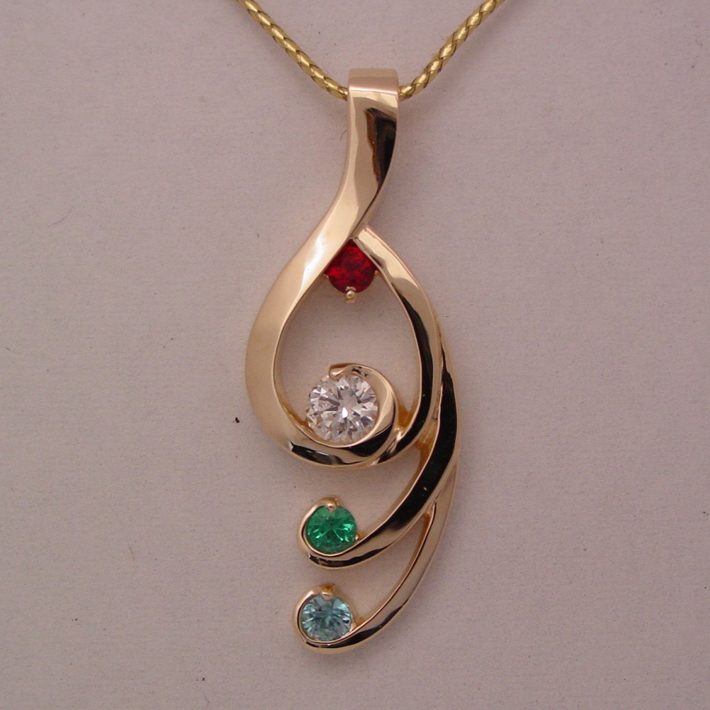 circle jewellers pendant custom ottawa jewelry jewellery design conger diamond s